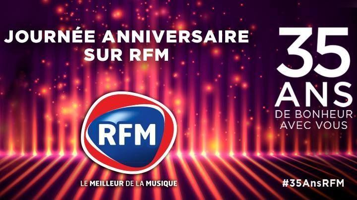 35ansrfm Les Artistes Souhaitent Un Joyeux Anniversaire A Rfm