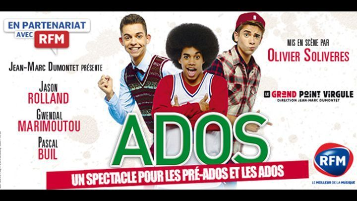 spectacle pour ado paris