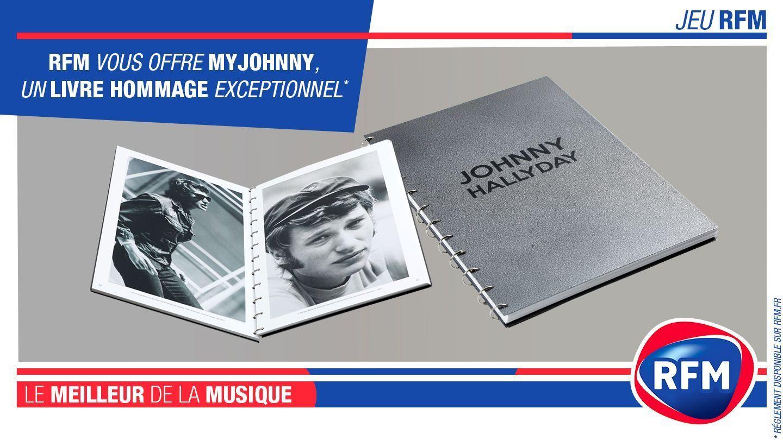 Johnny Hallyday Rfm Vous Offre Un Livre Hommage Exeptionnel