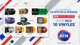 Fête de la musique 2021 : RFM vous offre votre pack 10 vinyles !