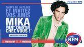 Gagnez un concert de Mika chez vous !