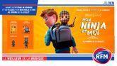 Gagnez votre pack de goodies et vos places pour «Mon Ninja et Moi» au cinéma le 15 juillet