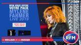 RFM vous offre votre pack Mylène Farmer Live 2019 !