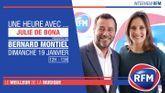 Dimanche 19 janvier : Julie De Bona est l'invitée de Bernard Montiel