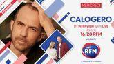 Mercredi 9 décembre: Calogero est l'invité du 16/20 RFM