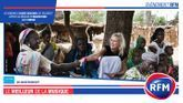 Vendredi 18 octobre : Elodie Gossuin en direct depuis la Mauritanie pour une mission avec UNICEF