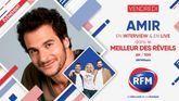 Vendredi 4 décembre: Amir est l'invité du Meilleur des Réveils