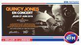 RFM partenaire du concert de Quincy Jones le 27 juin à l'AccorHotels Arena !