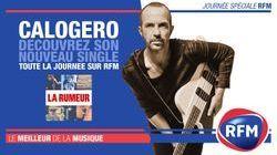 Calogero : Toute la journée, découvrez son nouveau single sur RFM !