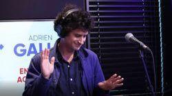 Adrien Gallo interprète « Chut » en live sur RFM !