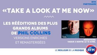 Phil Collins: les rééditions de «Testify» et «No jacket Required» disponibles avec RFM