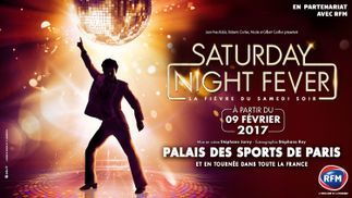 RFM partenaire de la tournée «Saturday Night Fever»