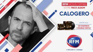 Calogero: RFM vous offre votre pack album «Centre Ville»