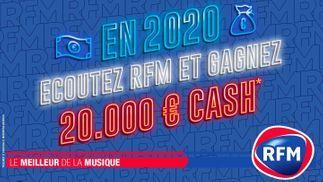 En 2020, écoutez RFM et gagnez 20.000€ !
