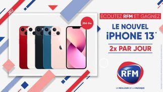 RFM vous offre l'iPhone 13… 2 fois par jour !