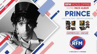 RFM vous offre votre pack album PRINCE !
