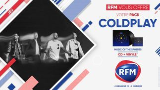 RFM vous offre votre pack Coldplay !