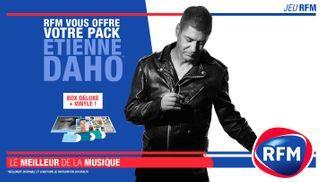 RFM vous offre votre pack Etienne Daho