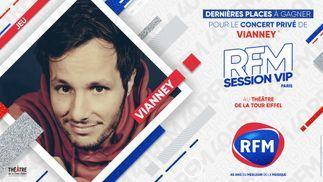 Vianney : RFM vous offre les dernières places pour sa RFM SESSION VIP !