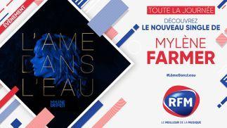 Vendredi 18 septembre: découvrez le nouveau single de Mylène Farmer toute la journée sur RFM !
