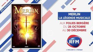 Merlin la légende musicale: aux Folies Bergère du 25 octobre au 30 décembre 2021 !