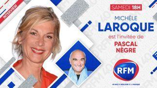 Découvrez l'interview de Michèle Laroque au micro de Pascal Nègre