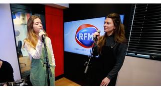 Les Frangines interprètent leur nouveau single «Devenir Quelqu'un» sur RFM !