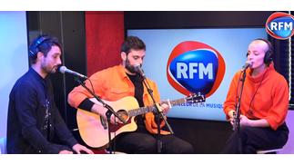 Madame Monsieur et Jérémy Frerot interprètent le titre «Comme un voleur» chez RFM