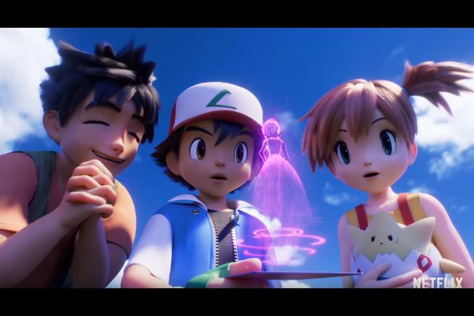 Pokémon et Netflix s'associent autour du film Pokémon : Mewtwo contre-attaque - Évolution