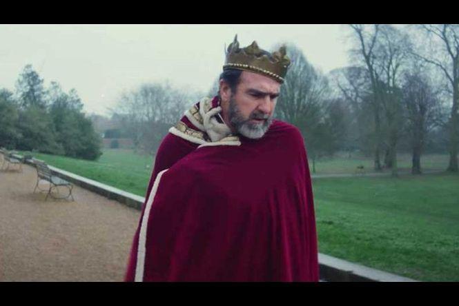 Eric Cantona dans un clip de Liam Gallagher